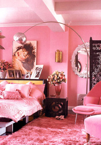 betsey johnson's pink loft