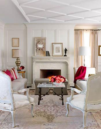 Pale Gray Living Room Via House Beautiful .