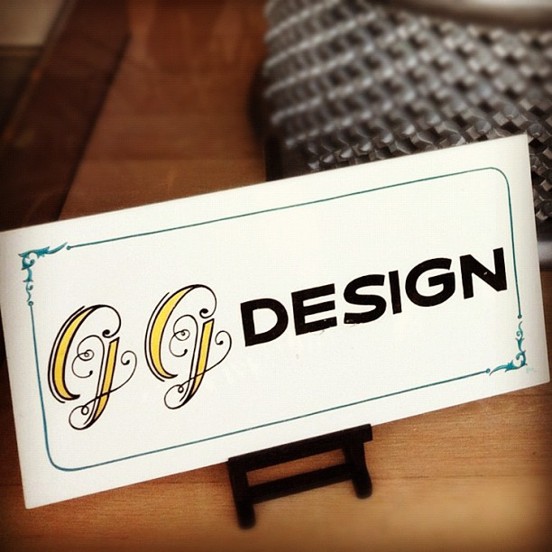 . gg design by gibb signs + stripes .